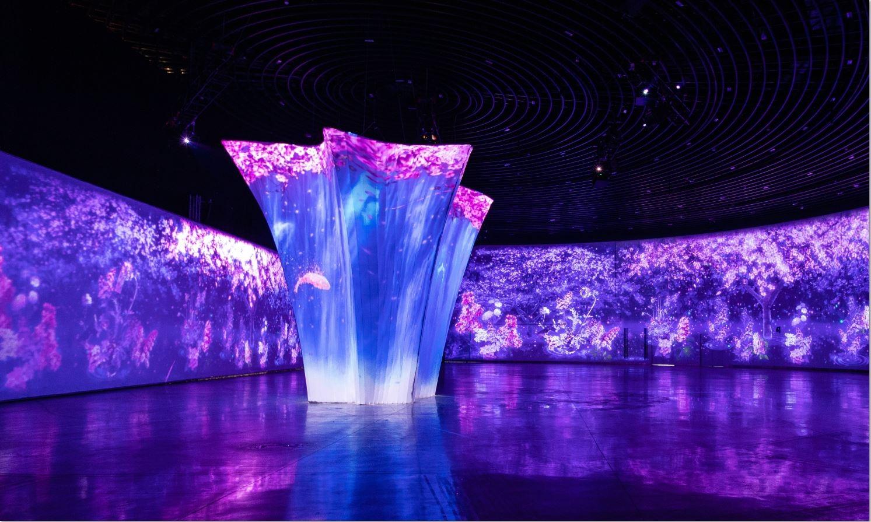 台灣燈會「環·台中光影燈區」  360度光雕秀震撼懾人